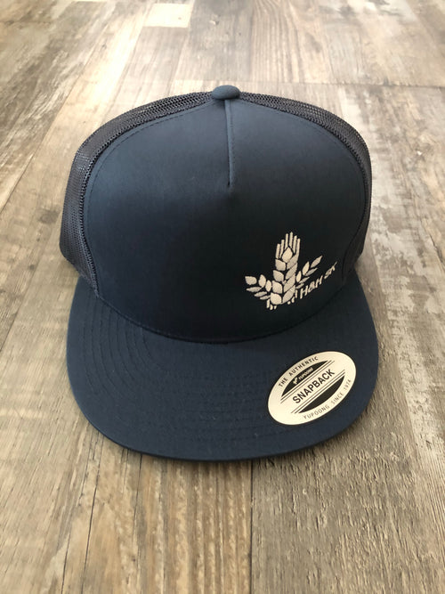 H&H SK Flat Wheat Sheaf Trio Snapback Hat