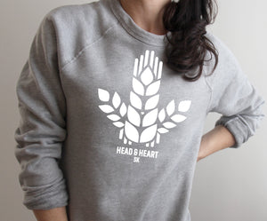 Wheat Sheaf Trio Raglan Sweatshirt