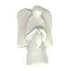 Angel Soapstone Sculpture Holding Heart