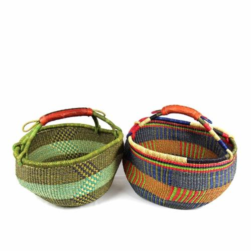 Bolga Market Basket, Large - Mixed Colors