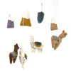 Hand Crafted Felt Little Llamas Mobile