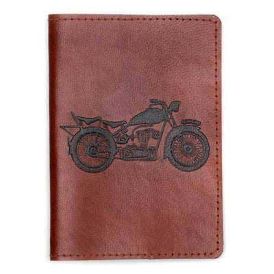 Open Road Leather Passport Cover  (PC)