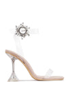 IMELDA WE'LL SEE ABOUT THAT HEELED  SANDAL-NUDE