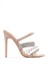 QUATRO GOTTA HAVE IT HEELED SANDALS-NUDE