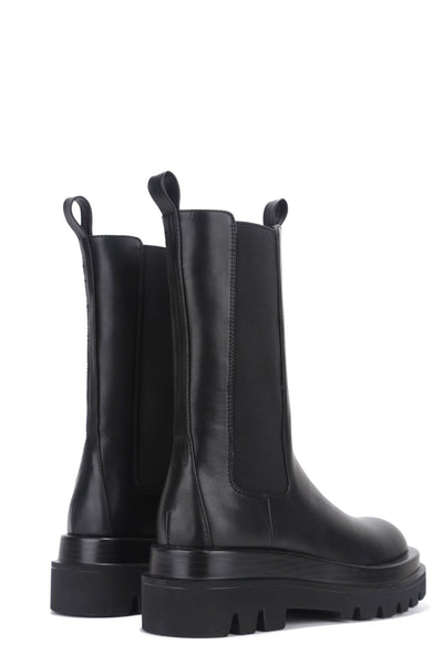 VEGAS SPEND SOME TIME MID-CALF BOOTS-BLACK