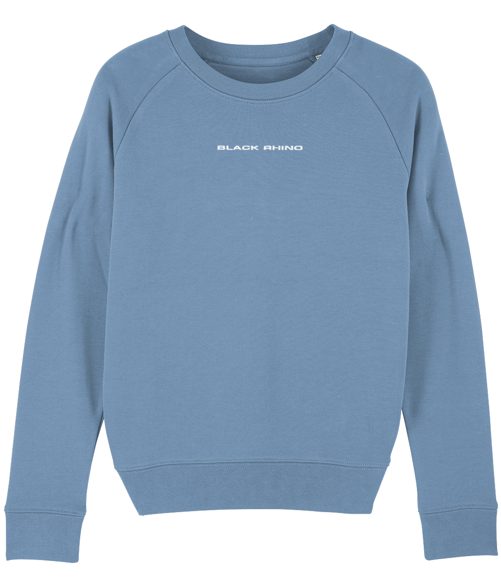 Mid Heather Blue Classic Crew Neck Sweatshirt