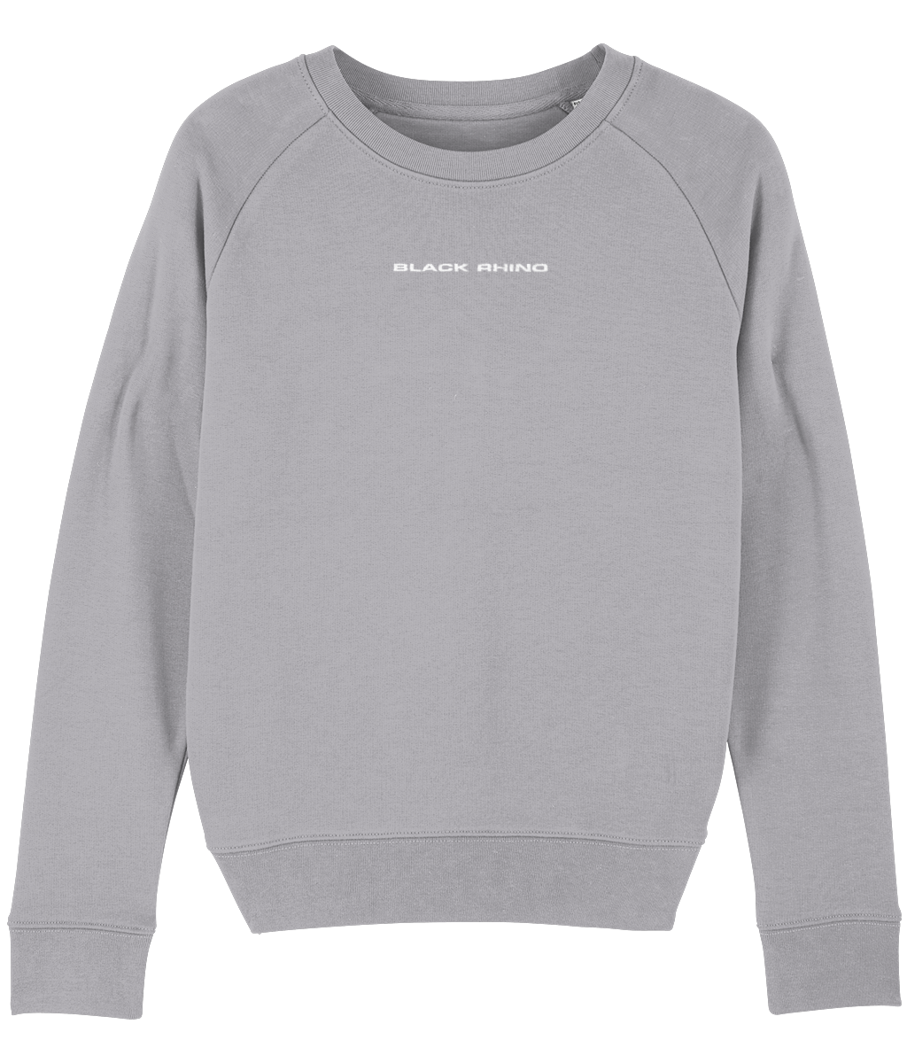 Mid Heather Grey Classic Crew Neck Sweatshirt