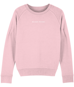 Cotton Pink Classic Crew Neck Sweatshirt