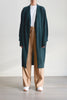 Essential Long Cardigan in Forest
