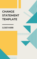 Change Statement Template