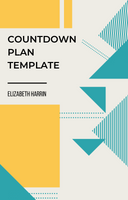 Countdown Plan Template