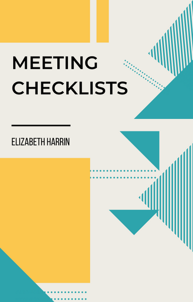meeting checklists