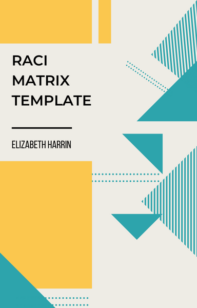 RACI Matrix Template