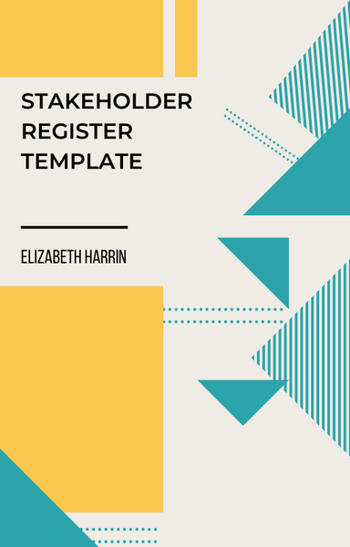stakeholder register template