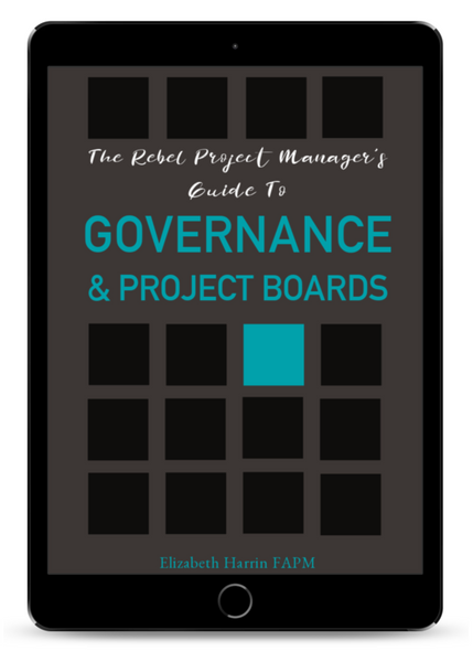 The Rebel Project Manager's Guide to Governance & Project Boards