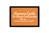 Resource Guide for Change Communication