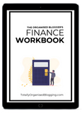 Blog Finance workbook