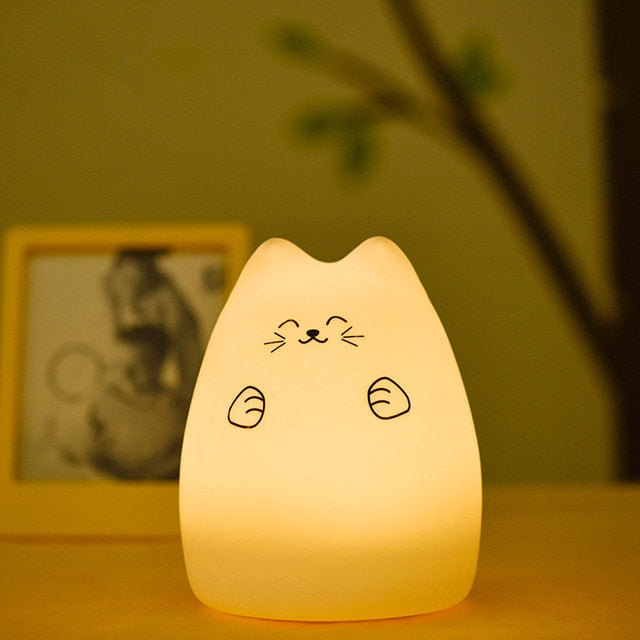 Happy Kitty LED Lamp