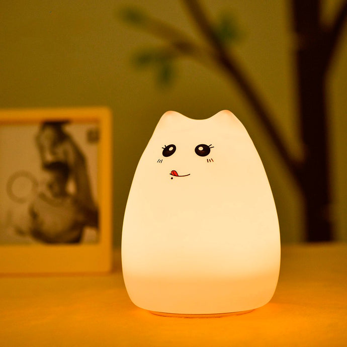 Blep Kitty LED Lamp