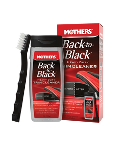 MOTHERS Back To Black Heavy Duty Trim Cleaner