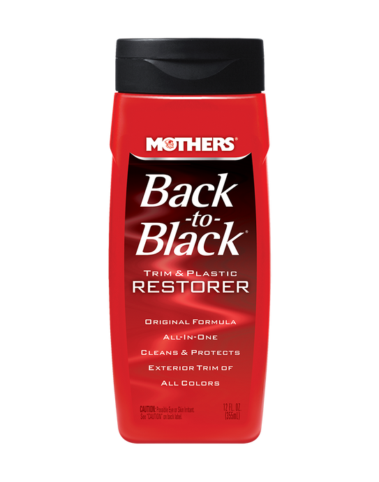 MOTHERS Back to Black Trim and Plastic Restorer 12oz