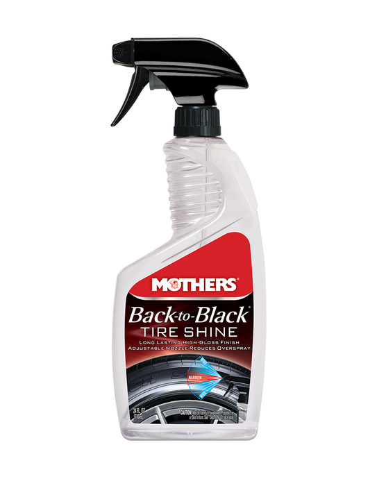 MOTHERS Back To Black Tire Shine 24oz