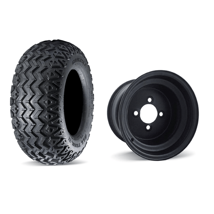 CARLISLE ALL TRAIL II / BLACK STEEL WHEEL 10
