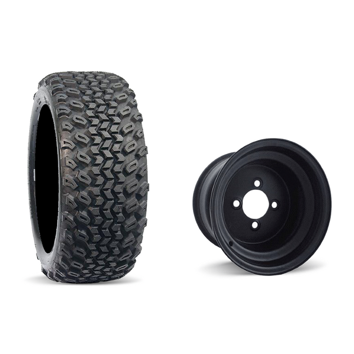 DURO DESERT / BLACK STEEL WHEEL 10