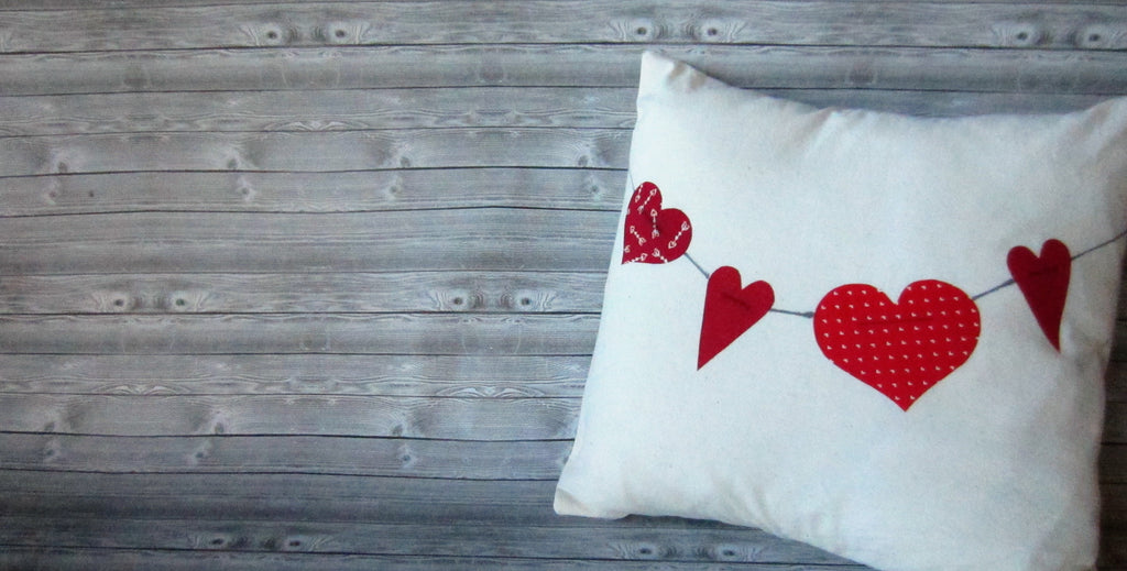Valentine's Day Pillow Cover