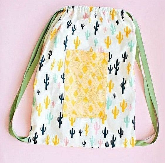 Easy Drawstring Backpack