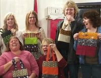 Halloween reuseable bag Sip N Sew event
