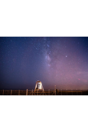 Starhopper Milky Way Horizontal