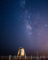 Starhopper Milky Way Vertical