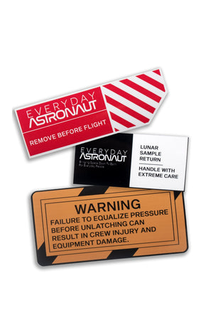 Warnings and Standards Sticker Pack