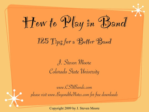 How to Play in Band (ebook)