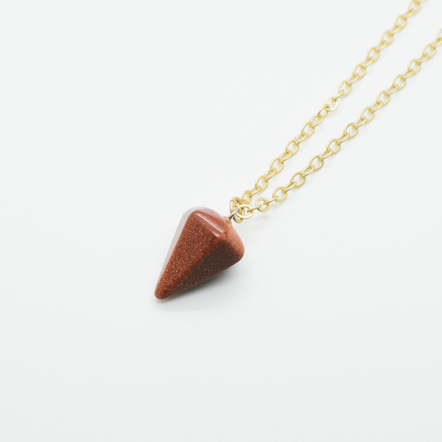 Mini 1/2 Pound Goldstone Pendulum
