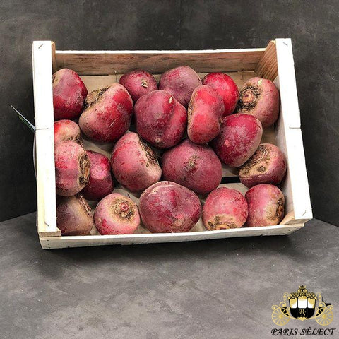 Betterave Chioggia, G&S, France, 40x30x5KG, Prix / KG