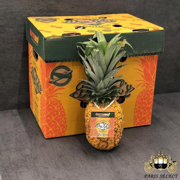 Ananas Extra Sweet Avion, Equateur, 50x40x12KG, Prix / KG - Paris Select