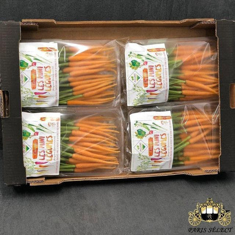 Carotte Orange Mini Barquettes 4X400GR, Picvert, Portugal, 60x40, Prix / BARQUETTE - Paris Select