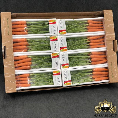 Carotte Orange Mini Barquettes 8x200GR, Sales, France, 60x40, Prix / BARQUETTE - Paris Select