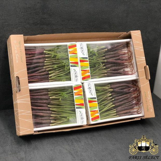 Carotte Violette Mini Barquettes 4X400GR, Sales, France, 60x40, Prix / BARQUETTE - Paris Select