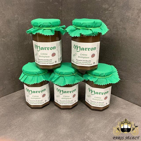 Creme de Marron Bio 6x370g, France, 6 Pots, Prix/ PIECE - Paris Select