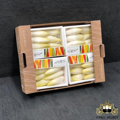 Endive Mini X4 Barquettes, Sales, France, 40x30X4 Barquette, Prix / BARQUETTE - Paris Select