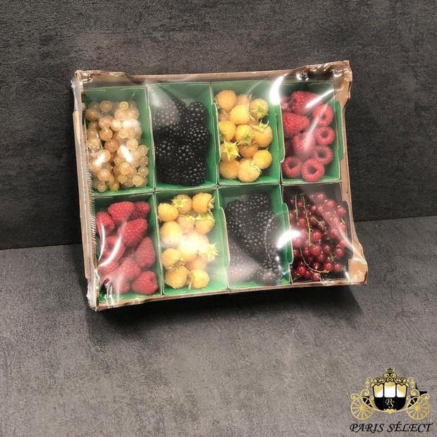 Fruits Panaché, Panach', France, 40x30 8x100GR, Prix / BARQUETTE - Paris Select