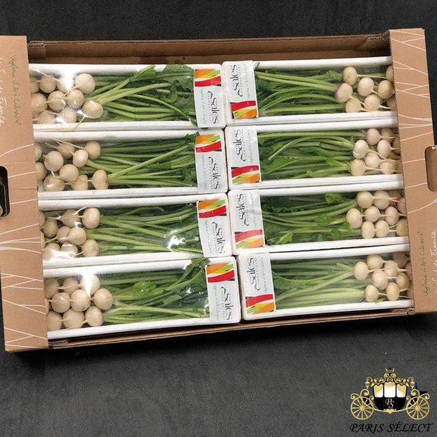 Navet Mini Barquettes 8x200GR, Sales, France, 60x40, Prix / BARQUETTE - Paris Select