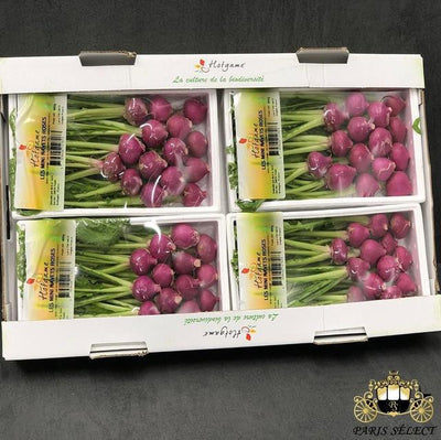 Navet Rose Mini Barquettes 4X400GR, Hotgame, France, 60x40, Prix / BARQUETTE - Paris Select