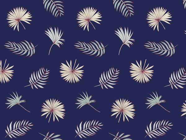 Fletcher - Dark & Blue - grand motif