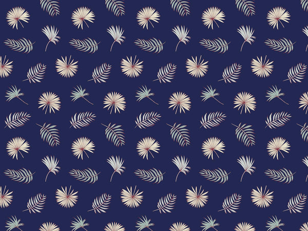 Fletcher - Dark & Blue - petit motif