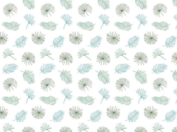 Fletcher - White & Green - petit motif