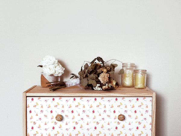 Geronimo - Pink & Honey - petit motif